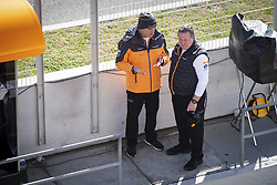 February 18, 2019 - Barcelona, Spain - BROWN Zak (usa), Chief Executive Officer of McLaren Racing, DE FERRAN Gil, Sporting Director of McLaren Racing, portrait during Formula 1 winter tests from February 18 to 21, 2019 at Barcelona, Spain - Photo Motorsports: FIA Formula One World Championship 2019, Test in Barcelona, (Credit Image: © Hoch Zwei via ZUMA Wire)