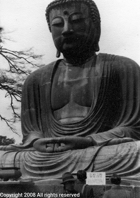 Post World War II Japan during the American occupation. American GIs visit the Great Buddha of Kamakura which is a bronze statue of Amida Buddha and located on the grounds of the Kotokuin Temple.