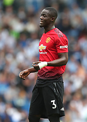 Manchester United's Eric Bailly during the Premier League match at the AMEX Stadium, Brighton.