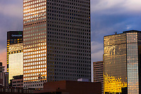 Office buildings, Downtown Denver, Colorado USA.