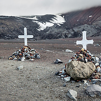 'Final Resting Place' - Deception Island, Antarctica<br /> <br /> For these two men and many others, Deception Island, is the final resting place.  Having sailed far south of their homelands, whalers, explorers and researchers are buried on this volcanic island.