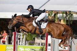 De Laet Caroline, BEL, Etna du Chateau<br /> Belgisch Kampioenschap 7 jarige springpaarden - Oudsbergen 2021<br /> © Hippo Foto - Dirk Caremans<br /> 15/08/2021