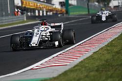July 29, 2018 - Budapest, Hungary - Motorsports: FIA Formula One World Championship 2018, Grand Prix of Hungary, .#9 Marcus Ericsson (SWE, Alfa Romeo Sauber F1 Team) (Credit Image: © Hoch Zwei via ZUMA Wire)