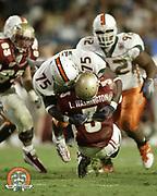2003 Miami Hurricanes Football vs FSU @ the 2004 Orange Bowl Classic
