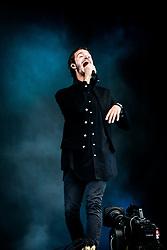June 17, 2018 - Landgraaf, Limburg, Netherlands - Tom Smith of Editors performing live at Pinkpop Festival 2018 in Landgraaf, Netherlands, on 17 June 2018. (Credit Image: © Roberto Finizio/NurPhoto via ZUMA Press)