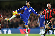 Cesc Fabregas of Chelsea in action. Barclays Premier league match, Chelsea v AFC Bournemouth at Stamford Bridge in London on Saturday 5th December 2015.<br /> pic by John Patrick Fletcher, Andrew Orchard sports photography.