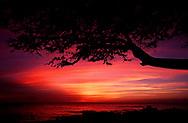 Sunset. Kona, Hawaii.