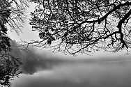 Lake of Pavin, Auvergne, France (High dynamic range imaging).