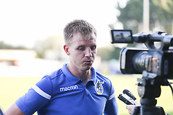 Tony Craig of Bristol Rovers during the post match interviews - Mandatory by-line: Arron Gent/JMP - 21/09/2019 - FOOTBALL - Cherry Red Records Stadium - Kingston upon Thames, England - AFC Wimbledon v Bristol Rovers - Sky Bet League One