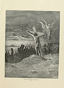 Miracles Plate XCIX from the book Story of the crusades. with a magnificent gallery of one hundred full-page engravings by the world-renowned artist, Gustave Doré [Gustave Dore] by Boyd, James P. (James Penny), 1836-1910. Published in Philadelphia 1892