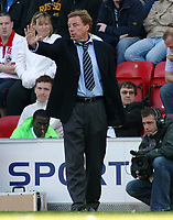 Photo: Paul Thomas.<br /> Wigan Athletic v Portsmouth. The Barclays Premiership. 29/04/2006.<br /> <br /> Portsmouth manager Harry Redknapp.