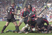 Leicester, Walker Stadium., Leicestershire, 5th April 2004, Heineken Cup, ENGLAND. [Mandatory Credit: Photo  Peter Spurrier/Intersport Images],Heineken Cup, Semi Final, Leicester Tigers vs Stade Toulouse, Walker Stadium, Leicester, ENGLAND: