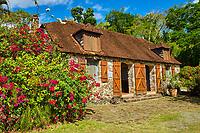 """France, Martinique, la """"Pagerie"""", cuisine de la maison de Joséphine de Beauharnais // France, Martinique, la """"Pagerie"""", kitchen from the house of Joséphine de Beauharnais"""