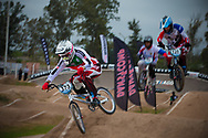 #373 (BLANC Renaud) SUI at the 2014 UCI BMX Supercross World Cup in Santiago Del Estero, Argentina.