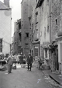 market day in a small town France 1930s