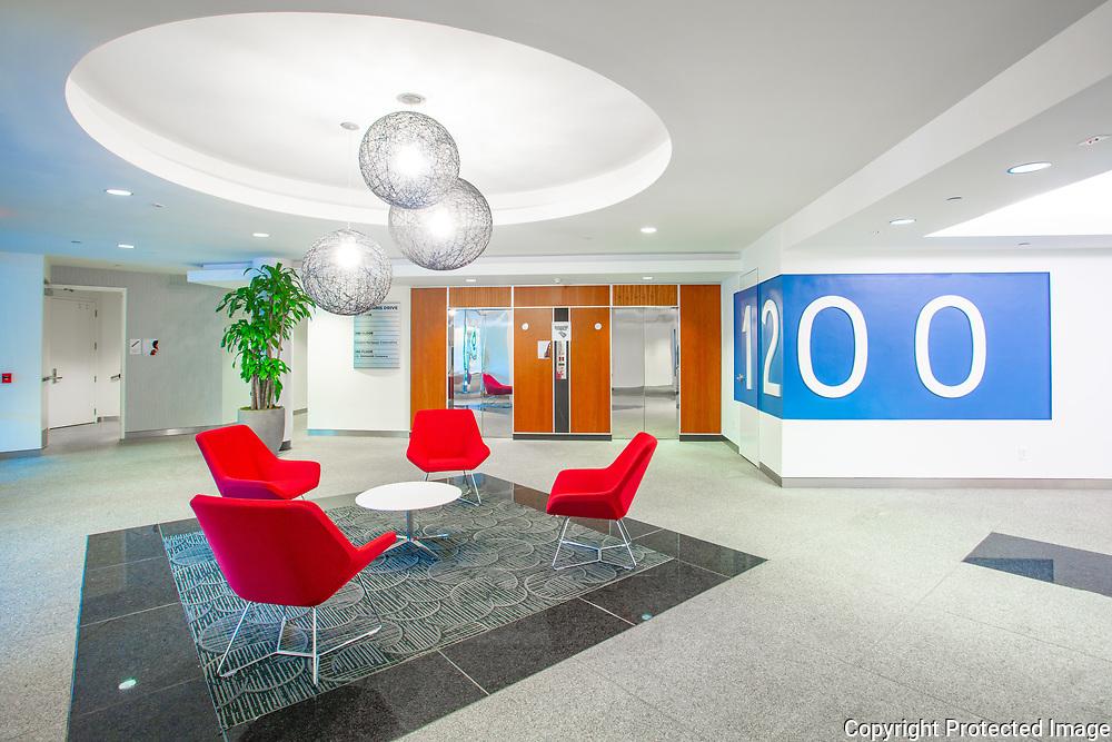 Office building lobby, Philadelphia, PA.
