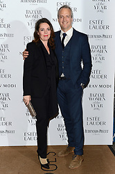 Olivia Colman and Husband Ed Sinclair bei den Harper's Bazaar Women of the Year Awards 2016 in London / 311016<br /> <br /> *** Harper's Bazaar Women of the Year Awards 2016 in London on October 31, 2016 ***