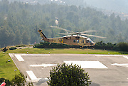 Israeli Air force Sikorsky CH-53E Yas'ur 2000 after takeoff - a set of 5 images