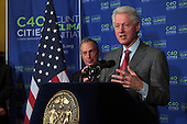 Mayor Michael Bloomberg & Former U.S. President Bill Clinton announce air quality results