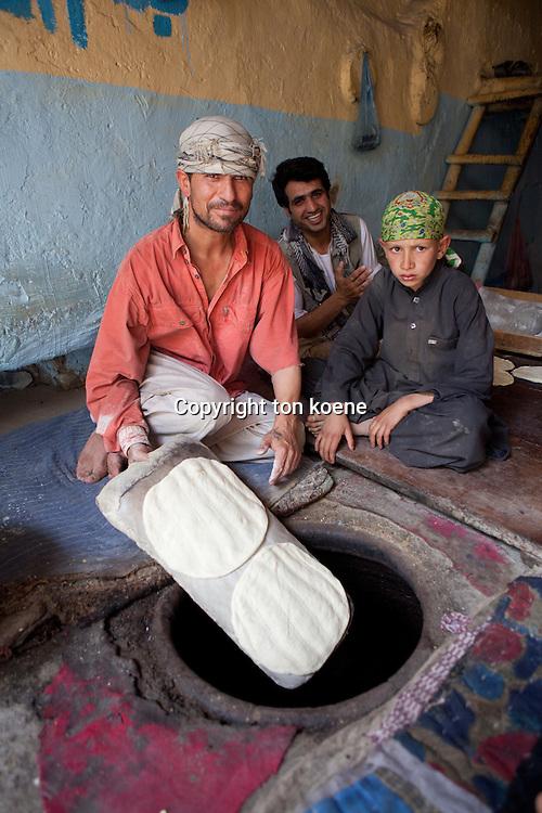 bread bakery in Kabul, Afghanistan