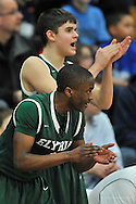 Elyria Catholic High School at Midview High School boys varsity basketball on January 24, 2014. Images © David Richard and may not be copied, posted, published or printed without permission.