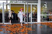 Beatrix bij viering 50 jaar Singer Laren