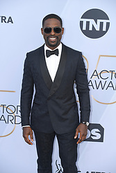 January 27, 2019 - Los Angeles, California, U.S - STERLING K. BROWN during silver carpet arrivals for the 25th Annual Screen Actors Guild Awards, held at The Shrine Expo Hall. (Credit Image: © Kevin Sullivan via ZUMA Wire)