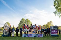 Moneta Luca Maria, (ITA), Neptune Brecourt, De Luca Lorenzo, (ITA), Erco van t Roosakker, Da Rios Daniele Augusto, (ITA), For Passion, Bucci Piergiorgio, (ITA), Casallo Z Winner Nations Cup<br /> Furusiyya FEI Nations Cup of Belgium<br /> Longines Spring Classic of Flanders - Lummen 2015<br /> © Hippo Foto - Leanjo de Koster<br /> 01/05/15