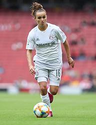 Lina Magull of Bayern Munich  on the ball - Mandatory by-line: Arron Gent/JMP - 28/07/2019 - FOOTBALL - Emirates Stadium - London, England - Arsenal Women v Bayern Munich Women - Emirates Cup
