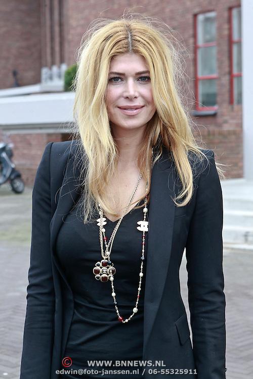 NLD/Amsterdam/20110314 - Presentatie nieuwe Helden en 14 jarig bestaan Johan Cruijff Foundation, Estelle Gullit - Cruijff