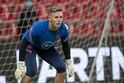 Dean Henderson (England) under UEFA Nations League kampen mellem Danmark og England den 8. september 2020 i Parken, København (Foto: Claus Birch).