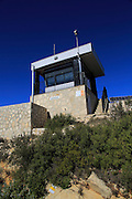 Fire watch look-out tower, mountain peak near Coll de Rates, Tarbena, Marina Alta, Alicante province, Spain