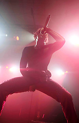 Yungblud plays O2 Academy, Edinburgh as part of his 'Life On Mars' Tour, 11th October 2021<br /> <br /> Pictured: Yungblud<br /> <br /> (c) Aimee Todd | Edinburgh Elite media