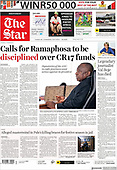 October 05, 2021 - AFRICA: Front-page: Today's Newspapers In Africa