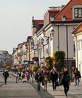 09.10.2014 Bialystok N/z ulica Lipowa - deptak w centrum fot Michal Kosc / AGENCJA WSCHOD