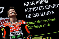 June 17, 2018 - Barcelona, Catalonia, Spain - Fabio Quartararo (20) of France and Mb Conveyors - Speed Up Racing Speed Up during the race day of the Gran Premi Monster Energy de Catalunya, Circuit of Catalunya, Montmelo, Spain. 17th June of 2018. (Credit Image: © Jose Breton/NurPhoto via ZUMA Press)