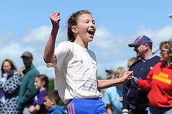 Children participate in track running during the Bristol Sport Festival - Photo mandatory by-line: Dougie Allward/JMP - Mobile: 07966 386802 - 06/06/2015 - SPORT - Multi-Sport - Bristol - SGS Wise Campus - Bristol Sport Festival Of Youth Sport - Festival Of Youth