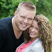 NLD/Eemnes/20120608 - DJ Tony Star een nieuwe partner mandy Der Kinderen,
