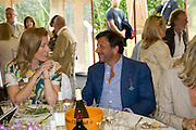 Mrs. Carletto O'Donnell; Rocco Forte, The Cartier Style et Luxe Concours lunch at the Goodwood Festival of Speed. July 13, 2008  *** Local Caption *** -DO NOT ARCHIVE-© Copyright Photograph by Dafydd Jones. 248 Clapham Rd. London SW9 0PZ. Tel 0207 820 0771. www.dafjones.com.