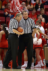 14 November 2016:  Randy Heimerman and Brad Ferrie during an NCAA  mens basketball game between the Indiana Purdue Fort Wayne Mastodons the Illinois State Redbirds in Redbird Arena, Normal IL