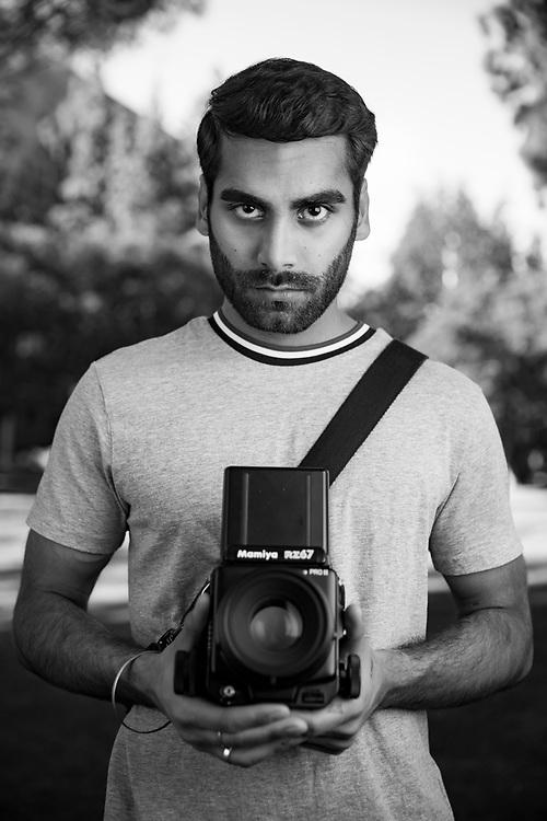 Photographer portrait.