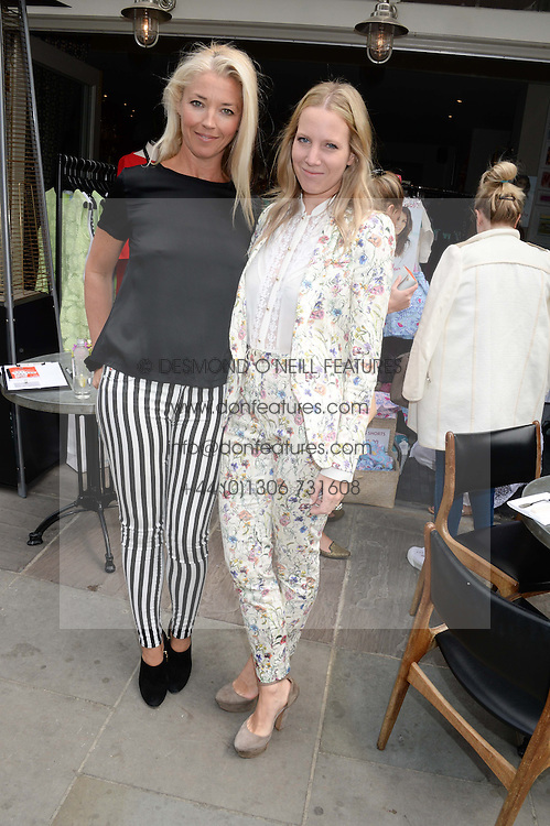 Left to right, TAMARA BECKWITH and ALICE NAYLOR-LEYLAND at the Glamorous Girls Summer Sale and Park Walk Street Party, Park Walk, London SW10 on 27th June 2013.
