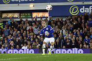 Gerard Deulofeu of Everton tries a shot at goal but sees his effort go wide of the goal. EFL Cup, 3rd round match, Everton v Norwich city at Goodison Park in Liverpool, Merseyside on Tuesday 20th September 2016.<br /> pic by Chris Stading, Andrew Orchard sports photography.