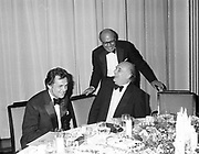 hon Charles Allsop St. George ( behind) and Lord Tanslaw. . Pink and Black Ball, Claridge's. 28 July 1987. © Copyright Photograph by Dafydd Jones 66 Stockwell Park Rd. London SW9 0DA Tel 020 7733 0108 www.dafjones.com