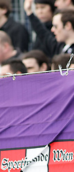 04.04.2010, Stadion Wiener Neustadt, Wiener Neustadt, AUT, 1.FBL, SC Magna Wiener Neustadt vs Austria Wien, im Bild Fan Feature, EXPA Pictures © 2010, PhotoCredit: EXPA / S. Trimmel / SPORTIDA PHOTO AGENCY