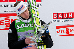 Third placed Martin Koch of Austria at flower ceremony at Flying Hill Individual at 2nd day of FIS Ski Jumping World Cup Finals Planica 2011, on March 18, 2011, Planica, Slovenia. (Photo by Vid Ponikvar / Sportida)