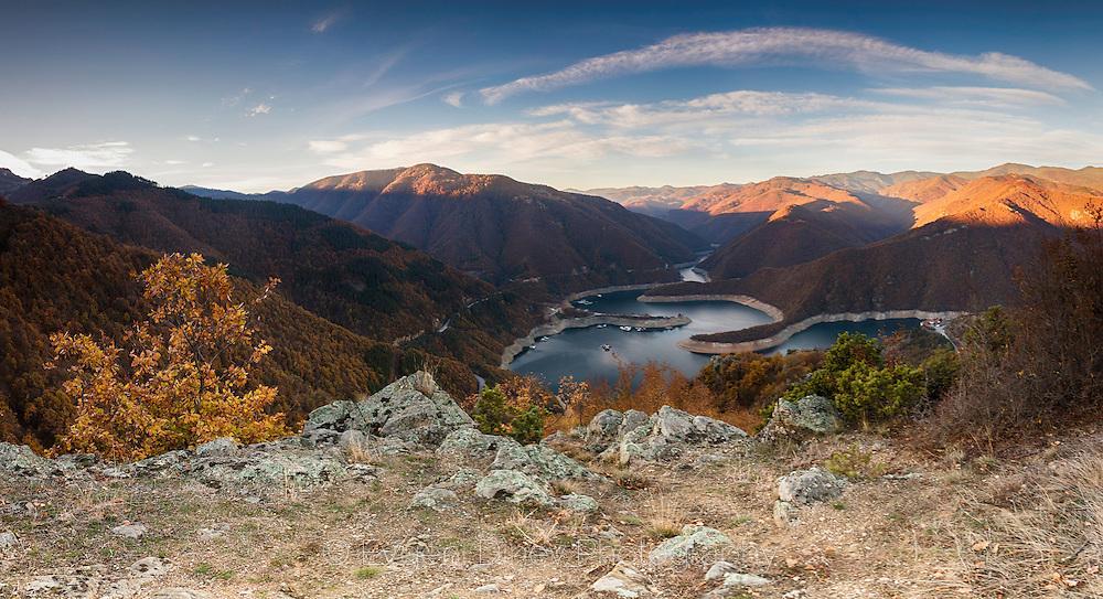 Above Vacha lake