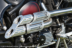 """""""Built for the Ride"""" bike show presented by RSD in City Park during the 75th Annual Sturgis Black Hills Motorcycle Rally.  SD, USA.  August 1, 2015.  Photography ©2015 Michael Lichter."""