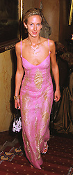 LADY VICTORIA HERVEY sister of the Marquess of Bristol, at a party in London on 30th January 1999.MNP 35