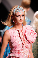 Jacquetta Wheeler walks the runway  at the Christian Dior Cruise Collection 2008 Fashion Show